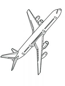 blackbird plane coloring pages