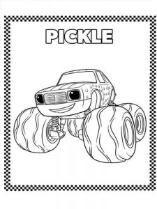 blaze and the monster machines coloring pages pdf