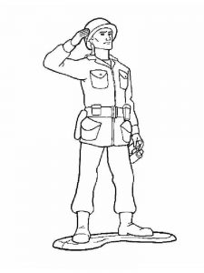 british soldier coloring pages print