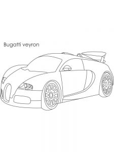 bugatti chiron coloring pages free