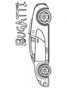 bugatti coloring pages free