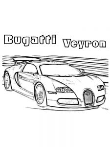 bugatti coloring pages online