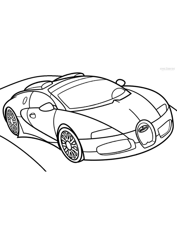 bugatti coloring pages printable
