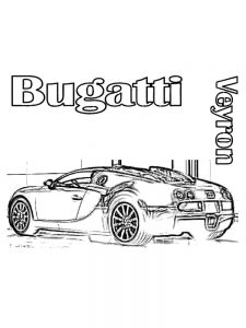 bugatti veyron 16.4 coloring pages free