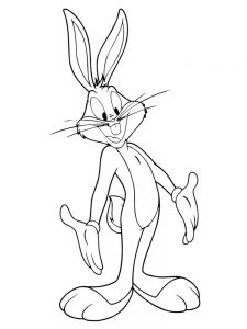 bugs bunny coloring pages easy