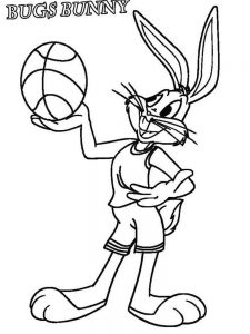 bugs bunny coloring pages online free