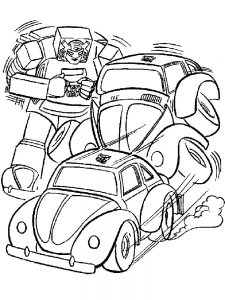 bumblebee transformers coloring pages free