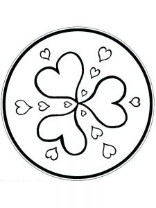butterfly heart coloring pages
