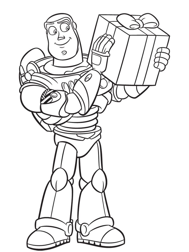 buzz lightyear coloring book pages