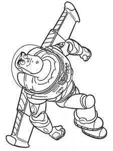 buzz lightyear coloring pages 003