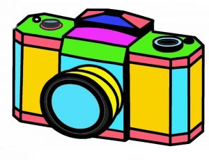 Printable Camera Coloring Pages