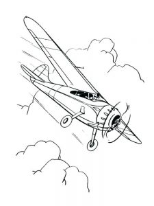 car airplane coloring pages
