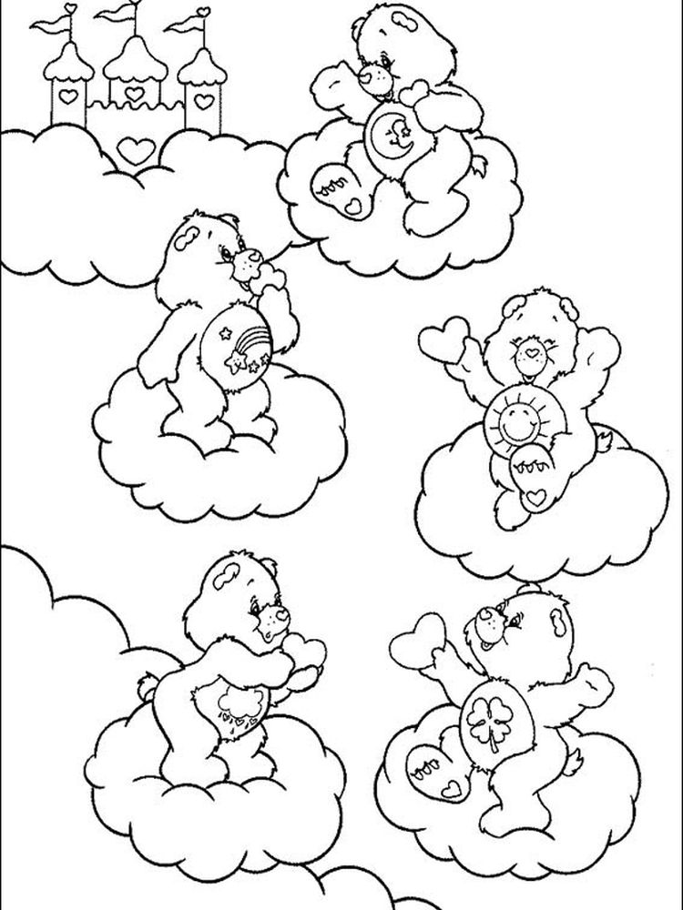 care bear coloring sheets