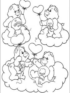 care bears coloring pages pdf