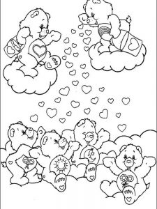 care bears coloring sheets