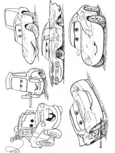 cars 2 coloring pages grem