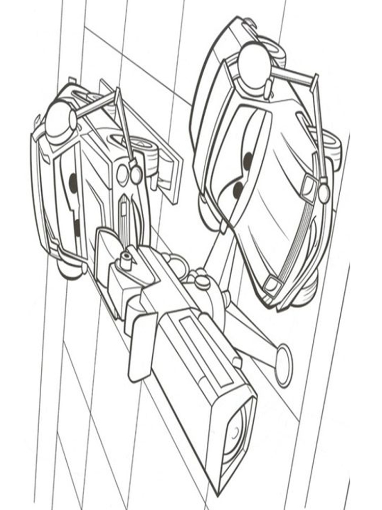 cars 2 coloring pages lightning mcqueen