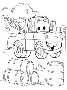 cars 2 coloring pages shu