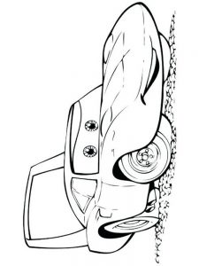 cars 2 colouring pages