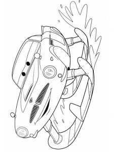 cars 2 movie coloring pages