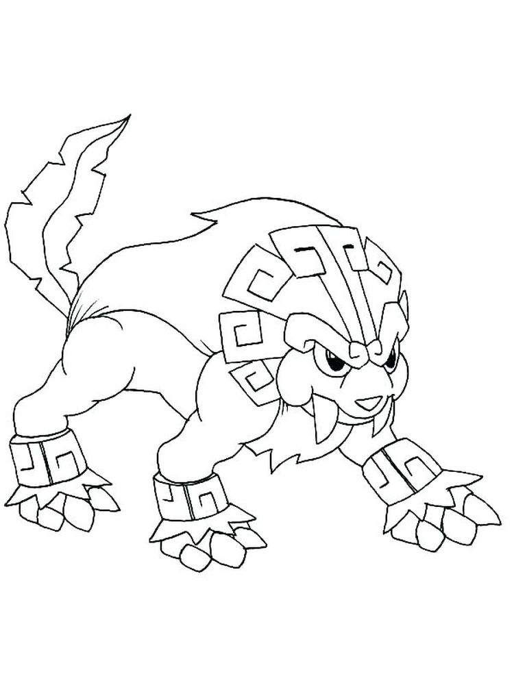 caterpie pokemon coloring page