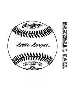 charlie brown baseball coloring pages