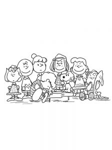 charlie brown coloring book pages pdf