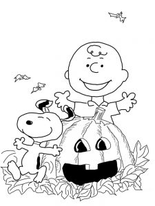 charlie brown coloring pages online print