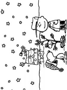 charlie brown coloring sheets free
