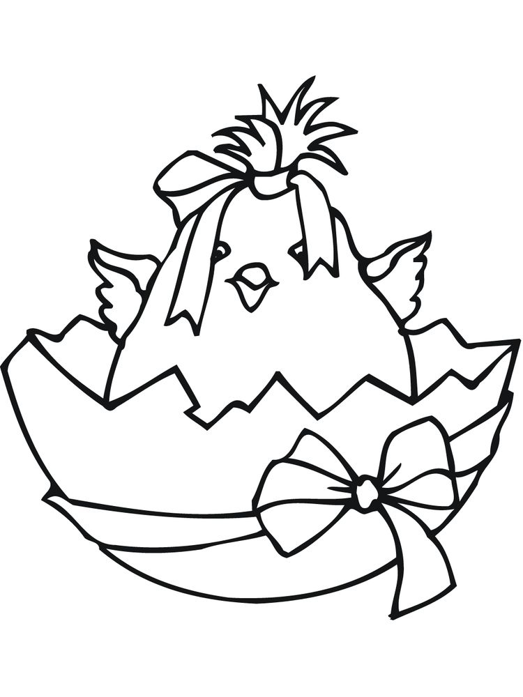 chick coloring pages 037