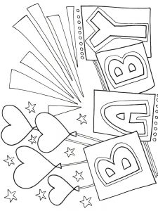 child coloring book pages free