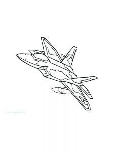 christmas airplane coloring pages