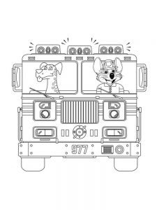 chuck e cheese coloring pages free