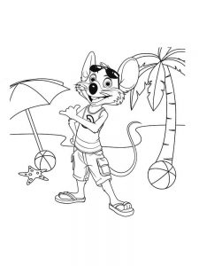 chuck e cheese coloring pages free pdf
