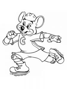 chuck e cheese coloring pages free printable