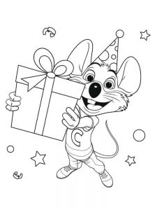 chuck e cheese coloring pages pdf printable