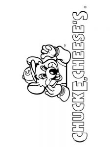 chuck e cheese coloring sheet pages