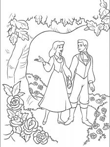 cinderella 2 coloring pages