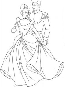 cinderella 2015 coloring pages