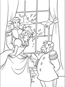 cinderella carriage coloring pages
