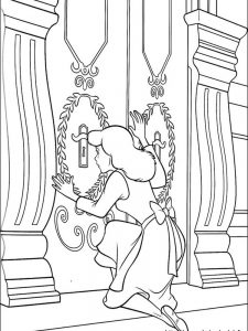 cinderella christmas coloring pages