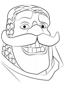 clash royale cards coloring pages