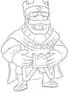 clash royale coloring pages legendary