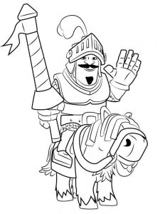 clash royale coloring pages sparky free