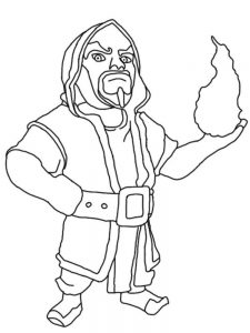 clash royale colouring pages