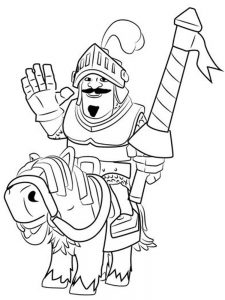 clash royale inferno dragon coloring pages