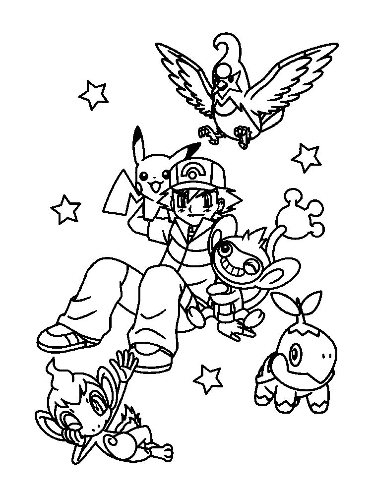 coloring page legendary pokemon