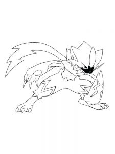 coloring page pokemon