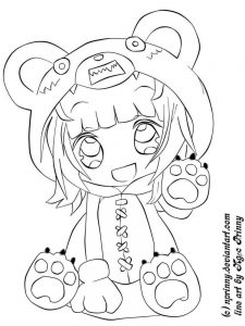 coloring pages about anime