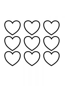 coloring pages about heart